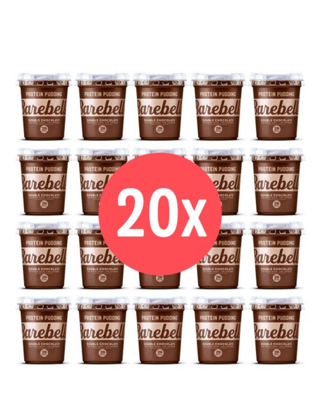 20x 200g Proteinpudding (Vanille oder Schoko, 20g Protein, MHD 10.02.)