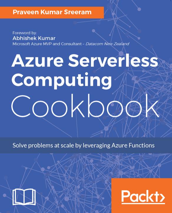 Azure Serverless Computing Cookbook kostenlos statt 45,99€