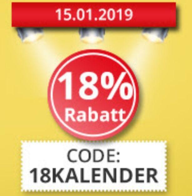 [Online]18% Rabatt auf alle Kalender bei Hugendubel.de u.A. Panoramakalender
