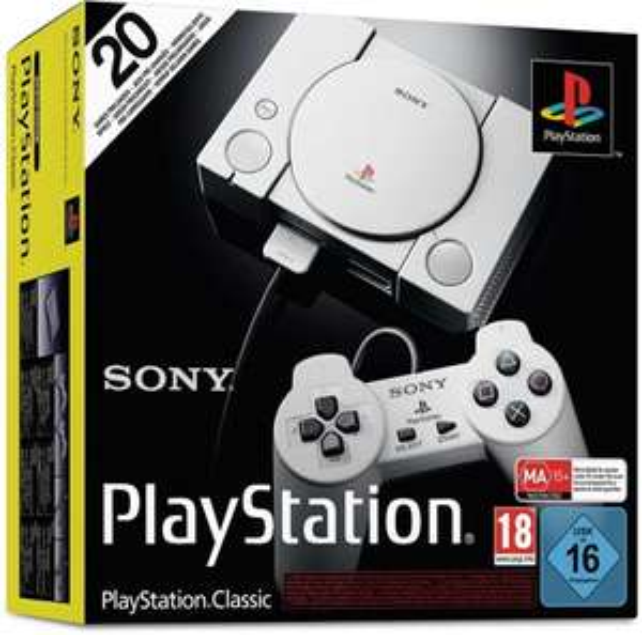 Sony PlayStation Classic [Technik Gross]