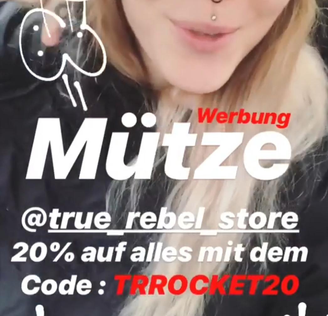 20% auf alles beim True Rebel Store (Kleidung, Merch...)