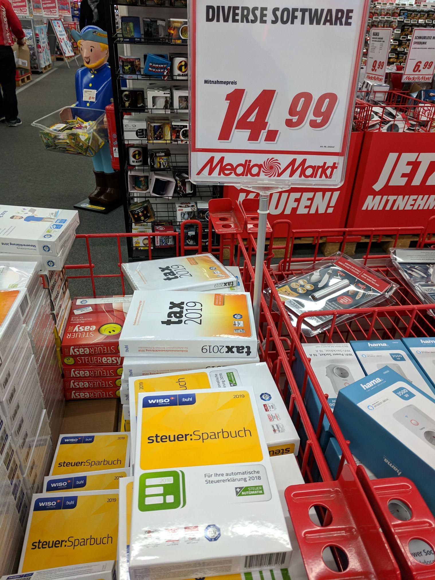 [lokal Mediamarkt Mönchengladbach] Wiso Steuer: Sparbuch