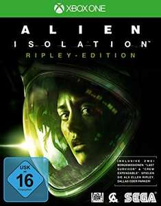 Alien Isolation - Xbox One Gold Arg. 4,16€ mit Guthaben