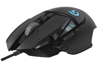 LOGITECH G502 Proteus Spectrum Gaming Maus, kabelgebunden, Schwarz