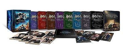 Wizarding World 9-Film Collector's Edition als Steelbook: Alle Harry Potter Filme + Phantastische Tierwesen (Limited Amazon Edition) Blu-ray