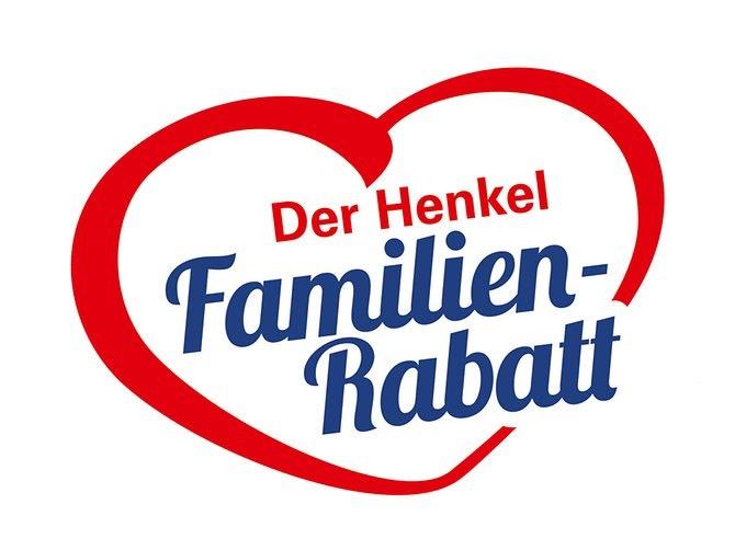 Ankündigung: Henkel Familien-Rabatt in Höhe von 3,00 €