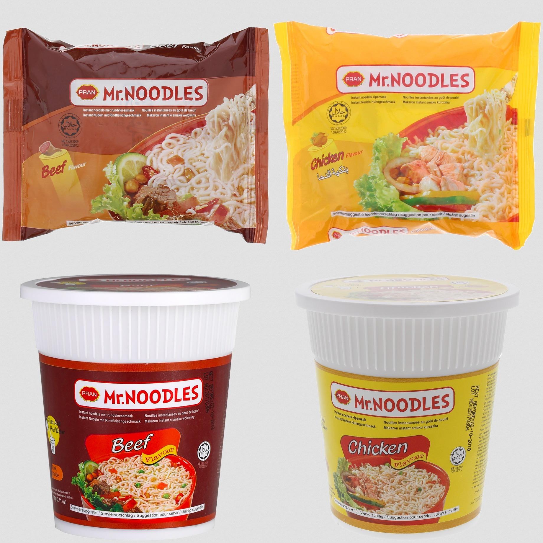 Mr Noodles ab 0,19€ und Umzugskarton für 0,87€ @ Action