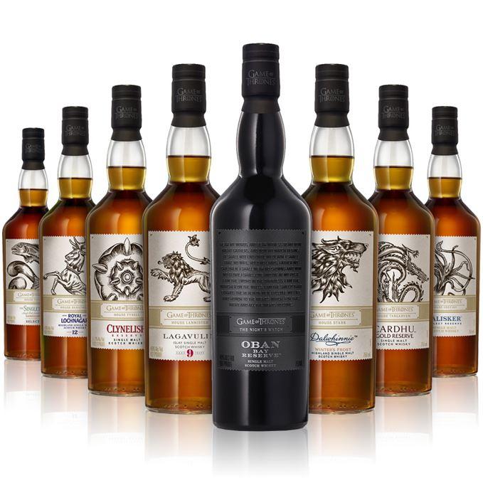 Whisky: Game of Thrones Single Malts vorbestellbar (z.B. Lagavulin, Talisker, Dalwhinnie]- Lieferung 15.02.18 [Amazon]