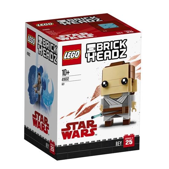LEGO Brick Headz - Rey (41602) & Captain Armando Salazar (41594) für je 5€ (GameStop)