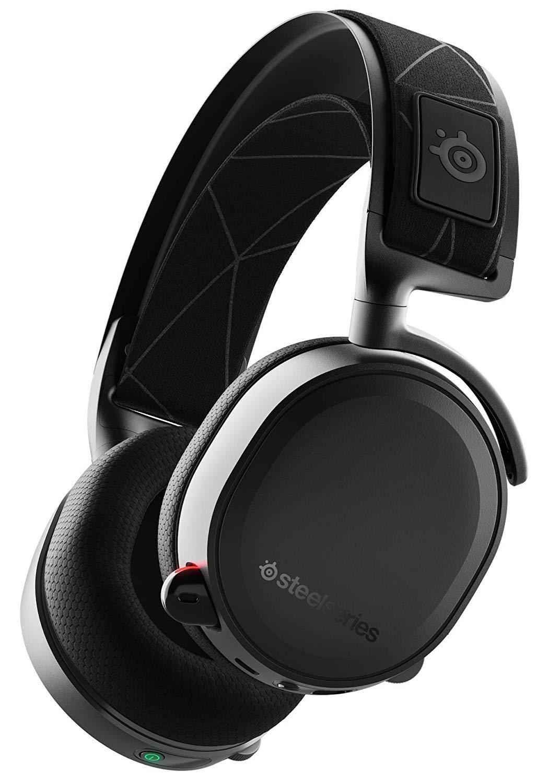 Kabelloses Headset SteelSeries Arctis 7 2019 Edition (Over-Ear geschlossen, Funk, USB, Klinke, 7.1-Simulation, ausziehbarer Mikrofonarm)