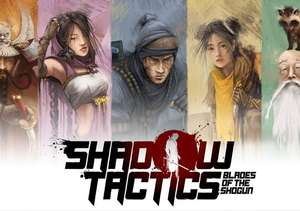 Shadow Tactics: Blades of the Shogun Steam-Key (global: EN/DE/FR/IT)
