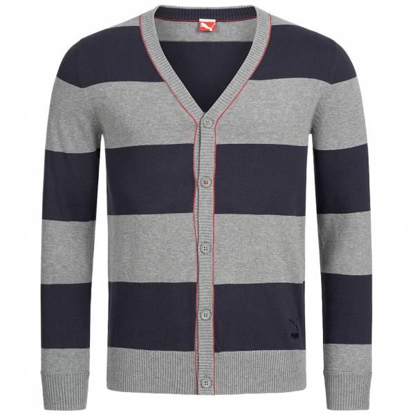 Puma Knit Varsity Cardigan Herren Strickjacke