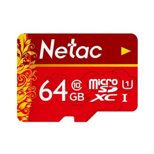 Netac 64 GB MicroSD-Speicherkarte U1 C10