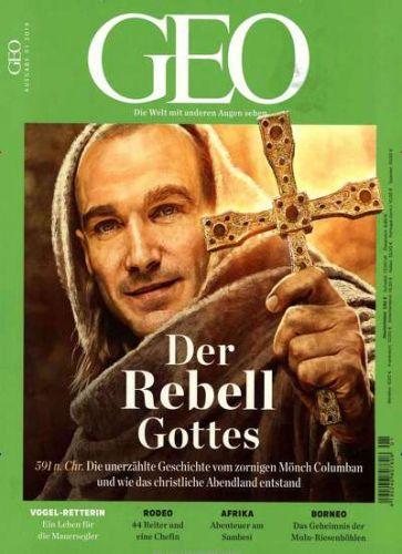 Geo Zeitschrift 3 Ausgaben plus Reisetaschenset