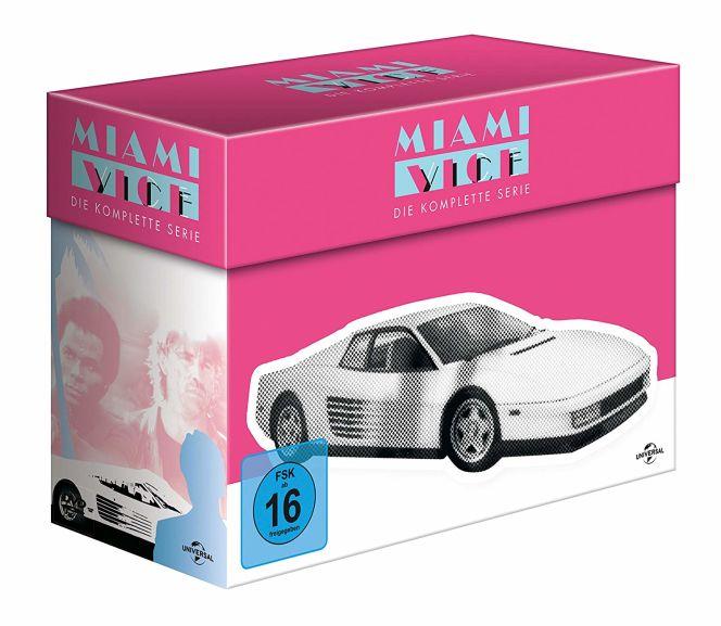 Miami Vice DVD Komplettbox durch Gutscheincode für €27,38