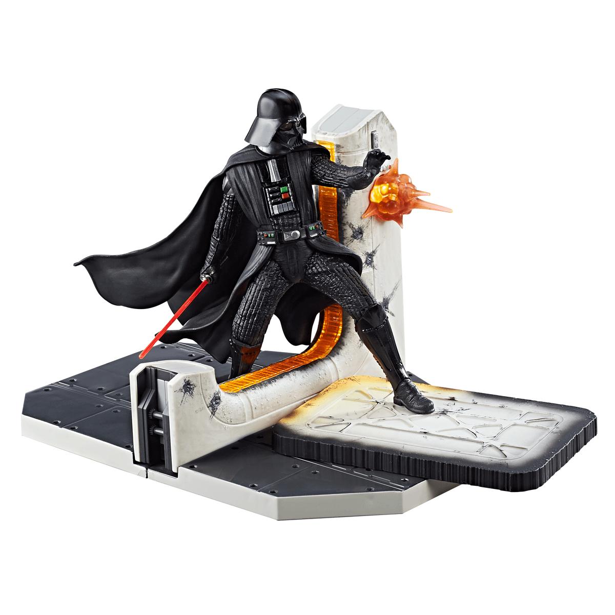 Hasbro Star Wars C1554EU4 - The Black Series 6 Zoll Darth Vader Diorama