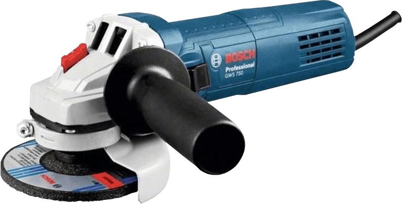 BOSCH GWS 750 115 mm Professional Winkelschleifer mit paydirekt für 43,58€ [technikdirekt]