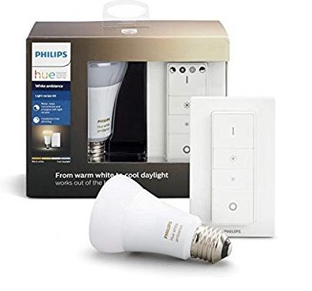 *lokal* Laufenburg E-Center / Philips Hue White Ambiance LED E27 9,5W - Starterkit mit Fernbedienung