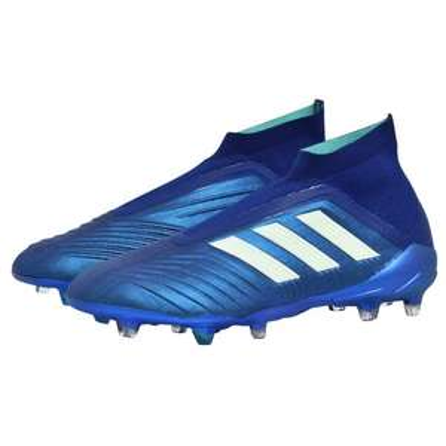 Adidas Predator 18+ FG, Farbe blau, in drei Größen: 8, 8 1/2, 9