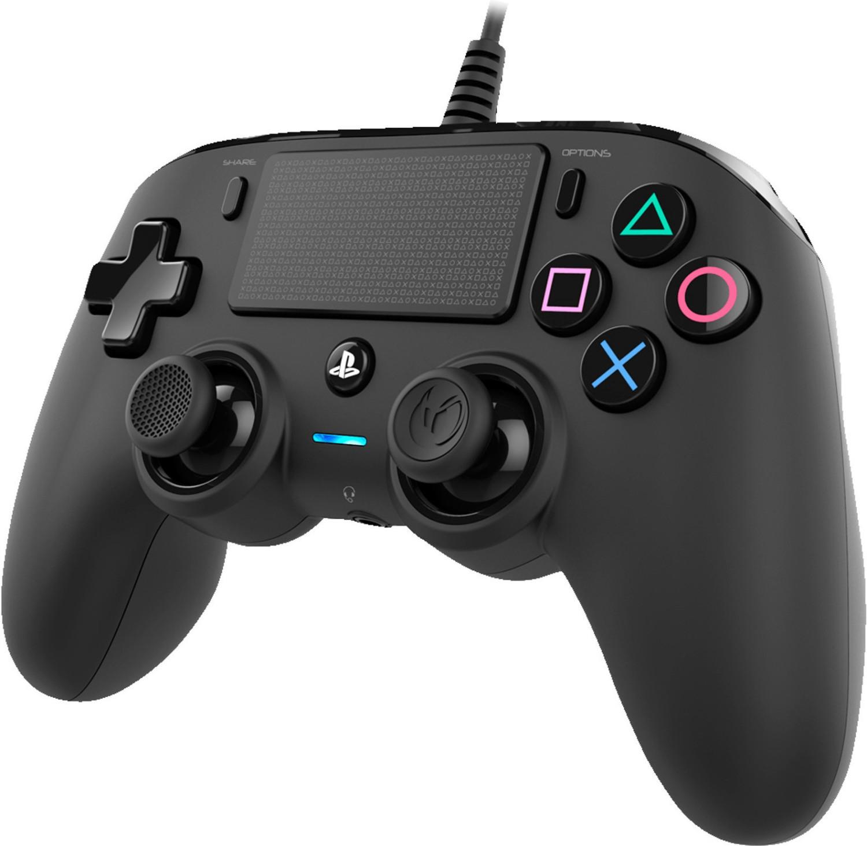 Nacon Wired Compact Controller (Schwarz/Rot/Grau/Blau) + Fallout 76 (PS4) für 38,99€ (Media Markt)