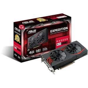 4GB Asus Radeon RX 570 Expedition Hybrid PCIe 3.0 x16 (Retail)+ 2 Spiele