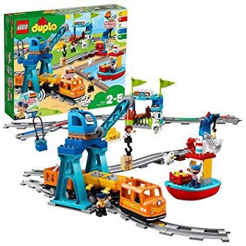Lego Duplo Eisenbahn 10875 Güterzug (Metro Offline)