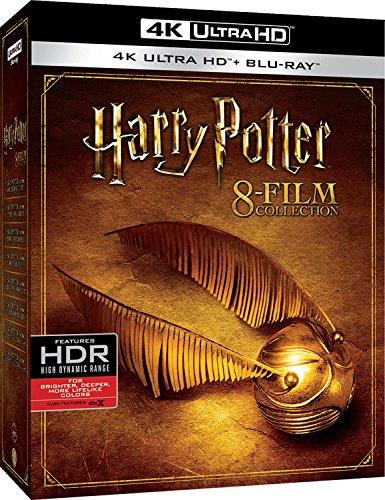 (Amazon.es) Harry Potter 1-8 Collection 4K UHD Deutscher Ton außer bei 7.2