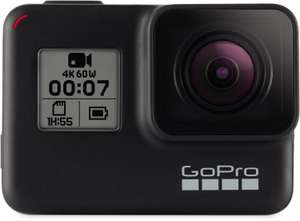 GoPro HERO7 Black Edition Action Cam 4K (60fps), Sprachsteuerung, WLAN, Touchscreen [Cyberport ebay Plus]