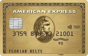 American Express Gold mit 20.000 Reward Points / 10.000 Miles & More oder Payback durch KWK