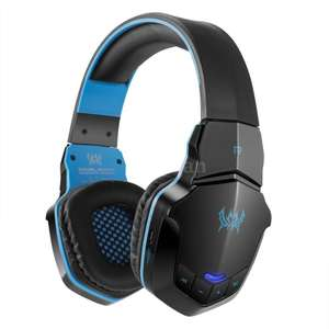 Gaming Headset Wireless Bluetooth Over-Ear Stereo