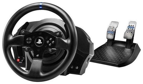 Thrustmaster T300 RS Lenkrad für PS4, PS3 und PC mit 2er Pedalset