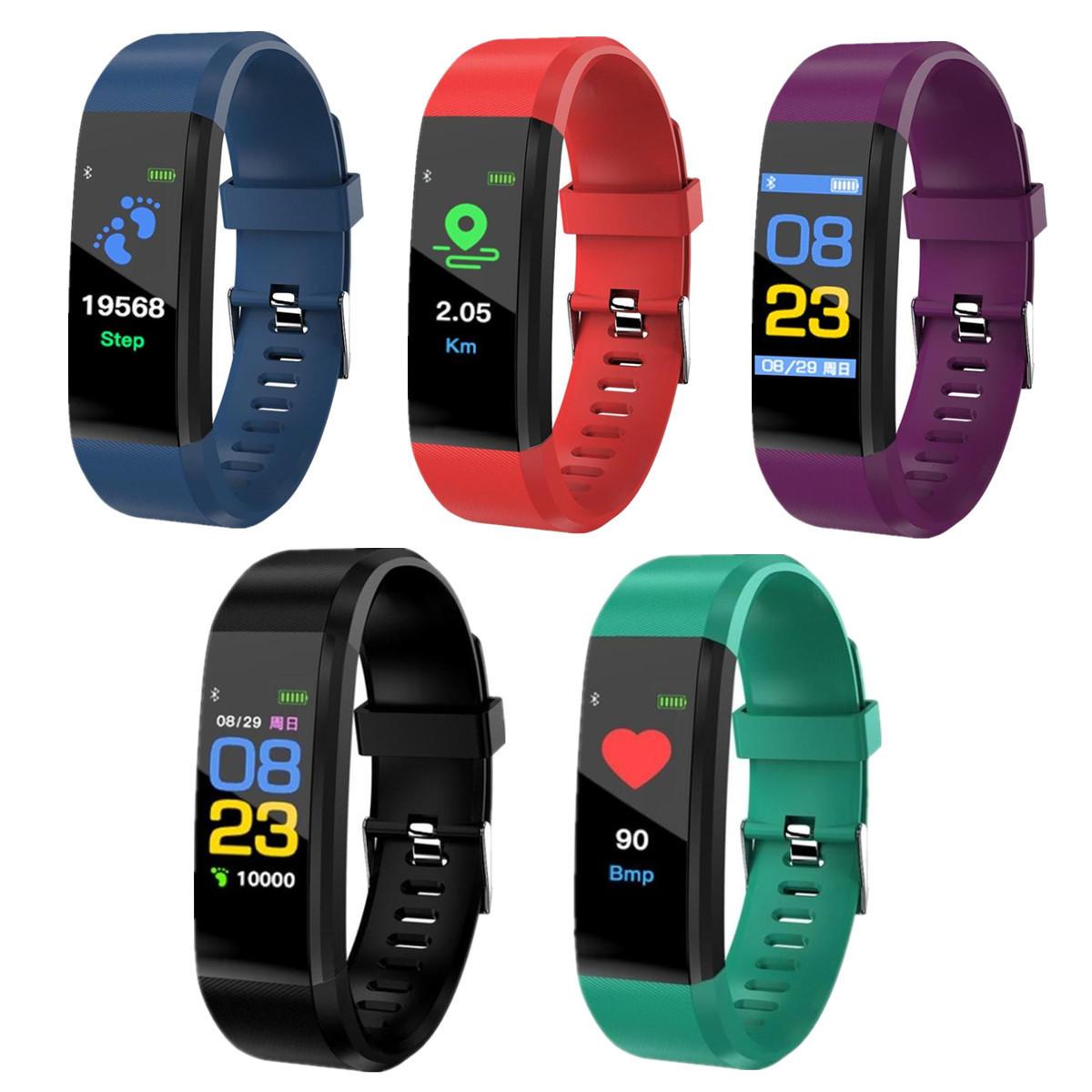 Xanes B05 Smartwatch - Blutdruck, Herzfrequenz + Standards