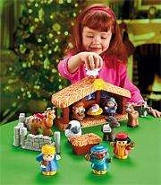 Fisher Price Little People Weihnachtskrippe 12,99 €