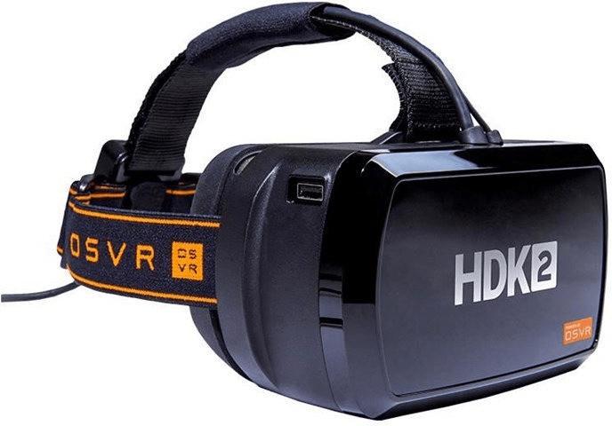 Razer OSVR HDK 2 VR-Brille (2160x1200, 441 PPI, 90 Hz, 120° Sichtwinkel)