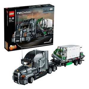 Real: LEGO TECHNIC 42078 Mack Anthem