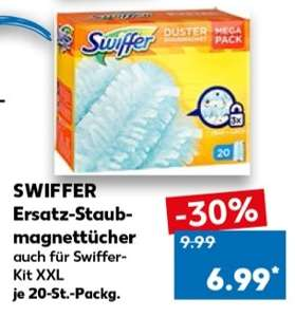 Swiffer Staubtücher 20 Stk - Kaufland