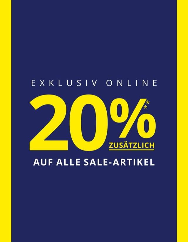 [online] Peek & Cloppenburg 20% on top im Sale