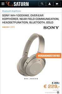 Sony WH-1000XM2 gold - Saturn Online