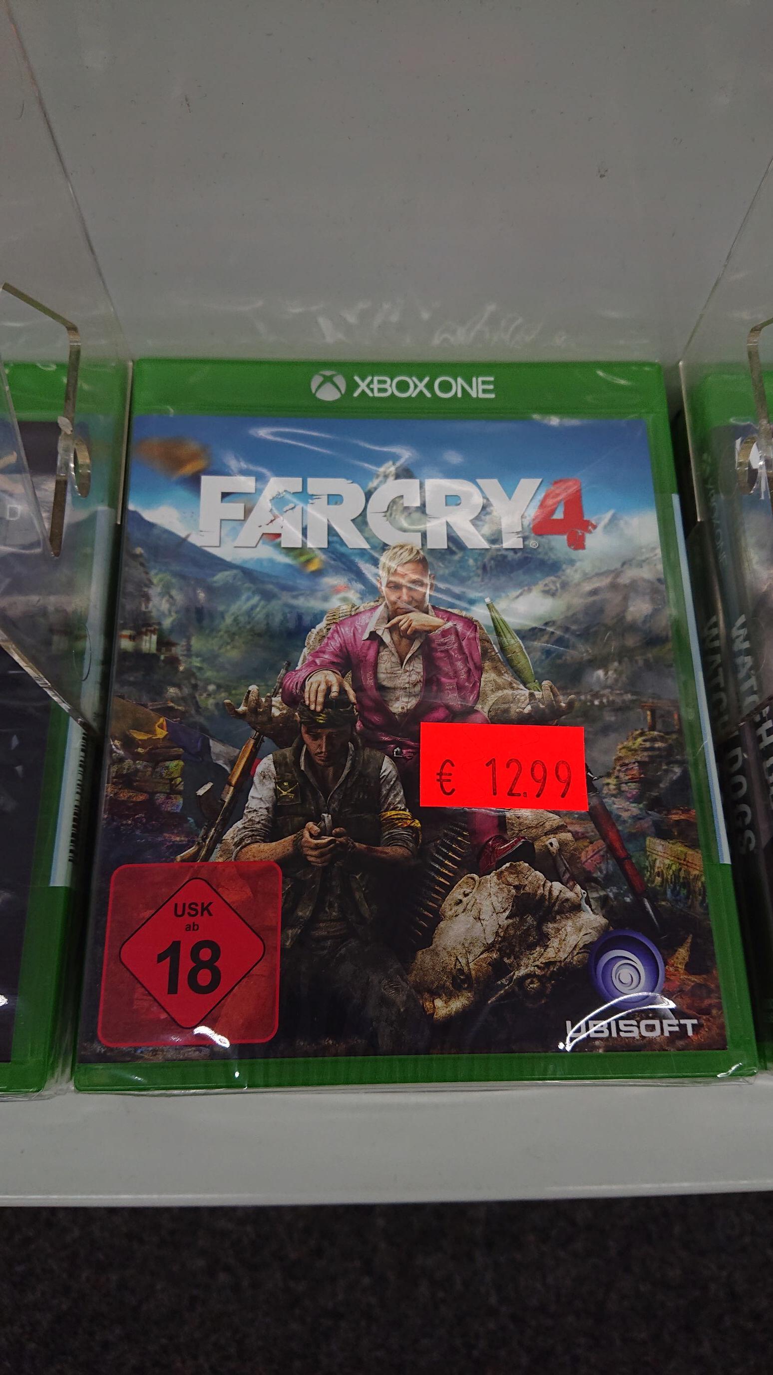 Far Cry 4 für Xbox One LOKAL im MM Viernheim