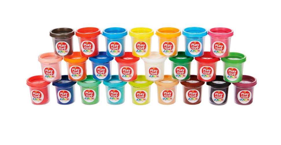 [Lidl online, ab 21.1.19 offline] 1,8 kg Knete in 24 Farben