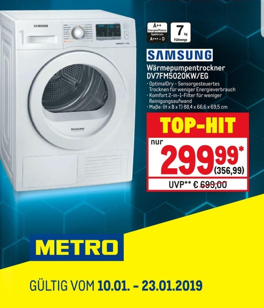 Samsung Wärmepumpentrocker - Metro Prospekt