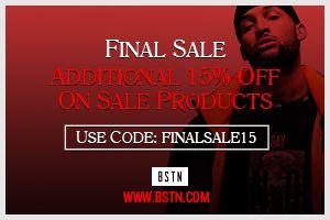 BSTN / www.bstn.com - 15% on top auf den Sale (Sneaker / Street wear)