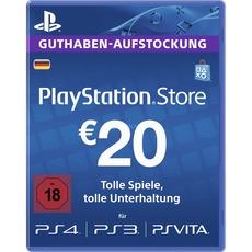 Sony Playstation Network Store Guthaben im Wert von 20 €
