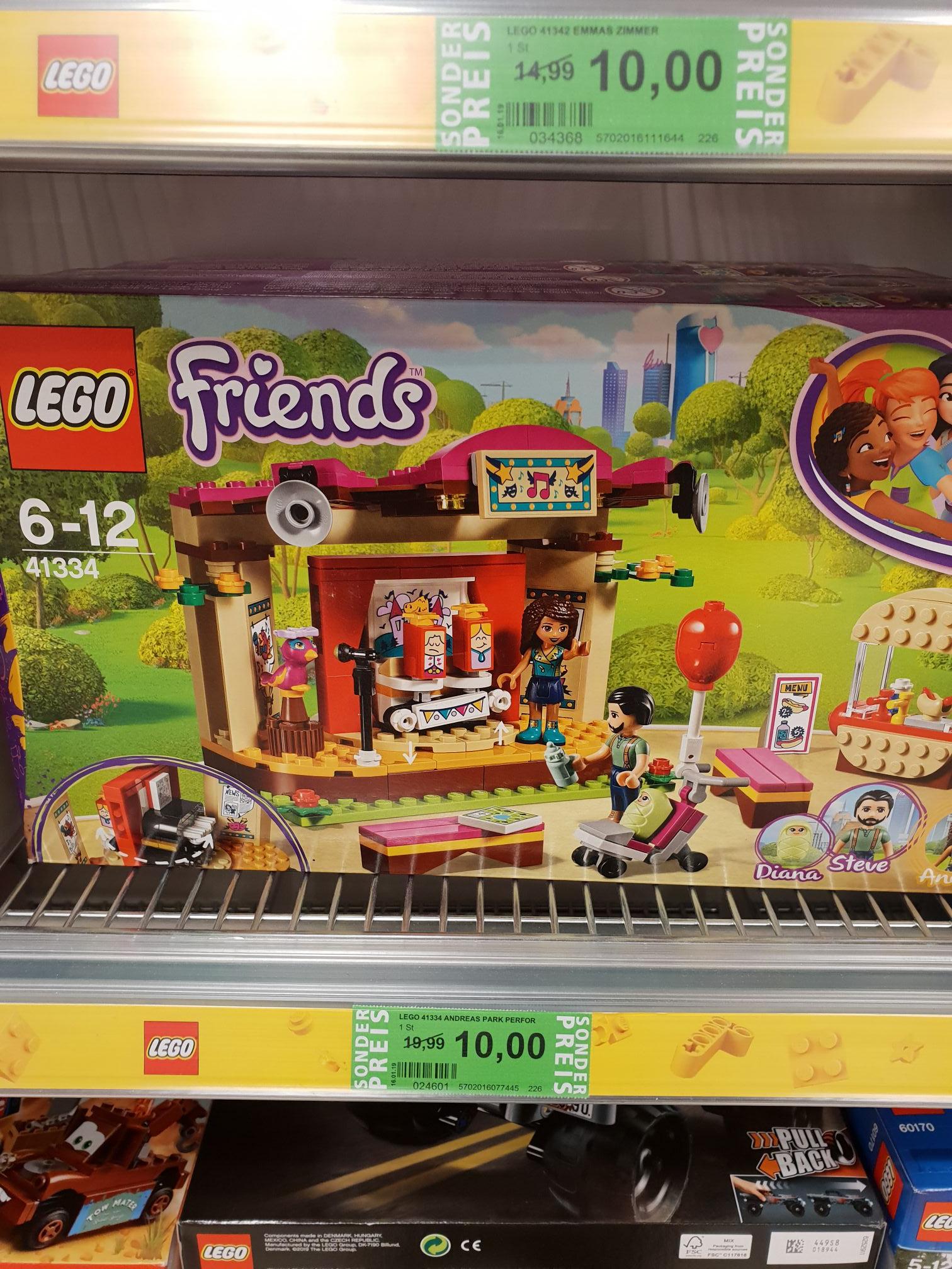 Lego Friends 41334 Rossmann