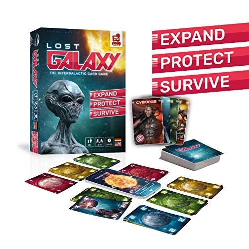 LOST GALAXY - Kartenspiel mit App [Amazon Blitzangebot]