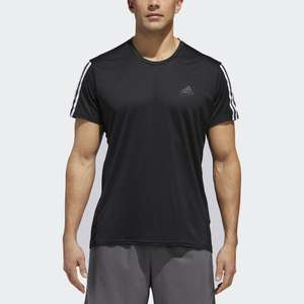adidas Performance Running 3-Streifen T-Shirt