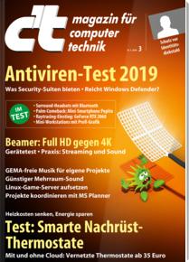 [Heise] 6 Ausgaben c't für 19,50 € mit Arduino Nano als Prämie oder 10€ Amazon + c't Sonderheft wissen Desinfec't 2018/2019 inkl. Software