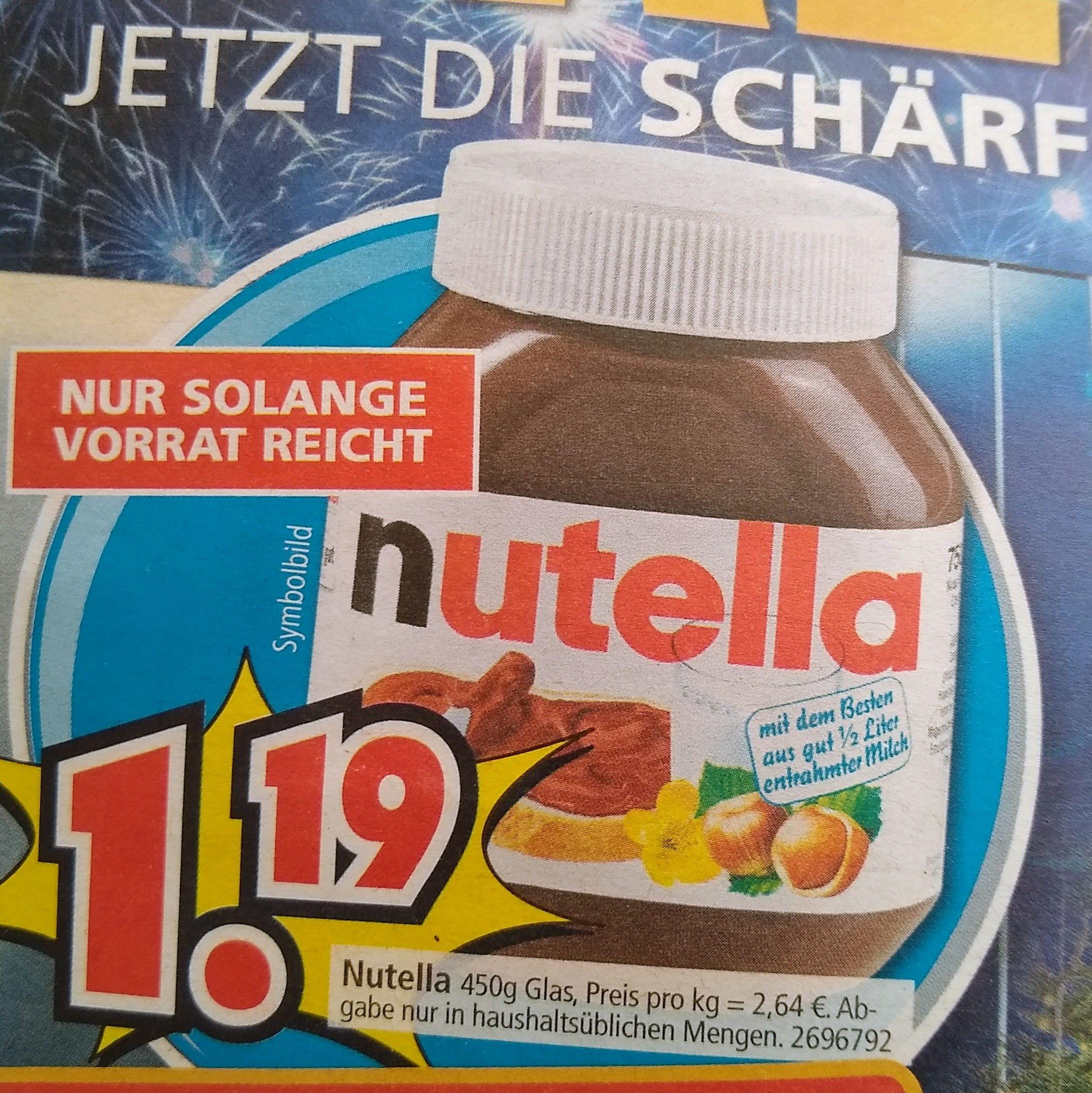 Nutella Segmuller In 50259 Pulheim Fur 2 64 Das Kilo Mydealz De