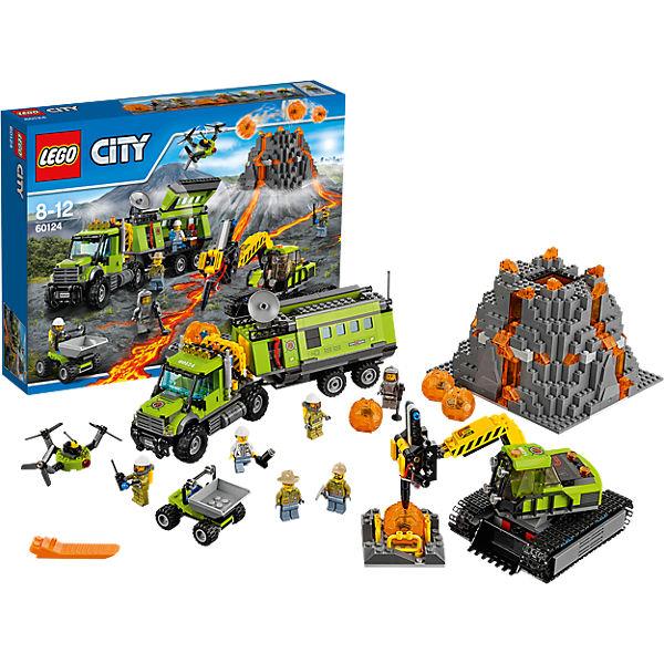 Lego City 60124 Vulkan-Forscherstation 71,99€ zzgl. 2,95€ Versand