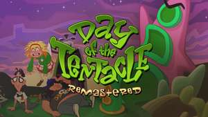 Day of the Tentacle - Remastered für 3,79€ [GOG]